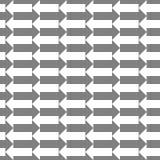Teste padrão sem emenda com setas Fotografia de Stock Royalty Free