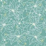 Teste padrão sem emenda com a telha do ornamento das flores do vetor ilustração stock