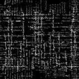 Teste padrão sem emenda com texto da escrita Texto da caligrafia, fundo preto Foto de Stock Royalty Free