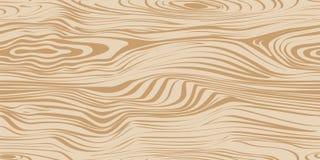 Teste padrão sem emenda com textura de madeira Imagem de Stock Royalty Free