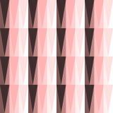 Teste padrão sem emenda com triângulos Fotografia de Stock