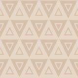 Teste padrão sem emenda com triângulos Imagem de Stock Royalty Free