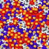 Teste padrão sem emenda composable floral Fotos de Stock