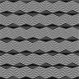 Teste padrão sem emenda contornado preto ilustração abstrata do vetor ilustração do vetor