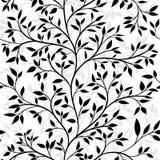 Teste padrão sem emenda da árvore Fotos de Stock Royalty Free