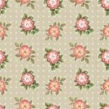 Teste padrão sem emenda da aquarela com ilustração das flores Foto de Stock