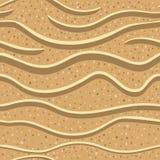 Teste padrão sem emenda 2 da areia Foto de Stock Royalty Free