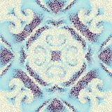 Teste padrão sem emenda da arte do mosaico Fotografia de Stock