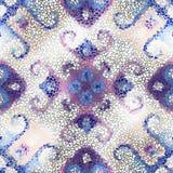 Teste padrão sem emenda da arte do mosaico Fotografia de Stock Royalty Free