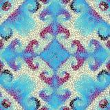 Teste padrão sem emenda da arte do mosaico Foto de Stock