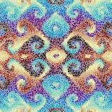 Teste padrão sem emenda da arte do mosaico Imagem de Stock Royalty Free