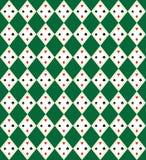 Teste padrão sem emenda da arte do vetor da Argyle-Manta Fotos de Stock Royalty Free