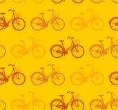 Teste padrão sem emenda da bicicleta Foto de Stock
