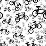 Teste padrão sem emenda da bicicleta Imagens de Stock