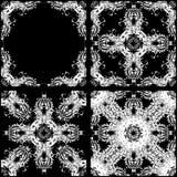 Teste padrão sem emenda da cor branca Fotos de Stock Royalty Free