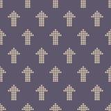Teste padrão sem emenda da cor com motivo das setas Setas feitas dos pontos imagem de stock