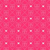 Teste padrão sem emenda da curva Série da princesa Imagens de Stock Royalty Free