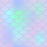 Teste padrão sem emenda da escala de peixes do lírio Textura ou fundo quadrado da amostra de folha do fishscale Fotografia de Stock