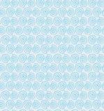 Teste padrão sem emenda da espiral brilhante do contorno decorativo ilustração royalty free