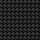 Teste padrão sem emenda da fibra do carbono Foto de Stock