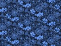Teste padrão sem emenda da flor com centáureas Fotos de Stock