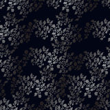 Teste padrão sem emenda da flor, flores de prata Ilustração do Vetor