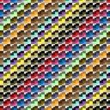 Teste padrão sem emenda, da forma geométrica diferente Imagens de Stock