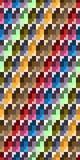 Teste padrão sem emenda, da forma geométrica diferente Fotografia de Stock
