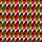 Teste padrão sem emenda, da forma geométrica diferente Fotos de Stock