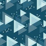 Teste padrão sem emenda da geometria do inverno do conceito Foto de Stock