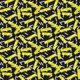 Teste padrão sem emenda da geometria moderna Fotografia de Stock Royalty Free