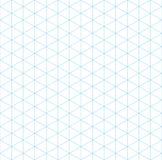 Teste padrão sem emenda da grade isométrica ilustração stock