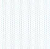 Teste padrão sem emenda da grade isométrica vazia ilustração do vetor