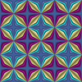Teste padrão sem emenda da ilusão geométrica abstrata. Fotos de Stock Royalty Free