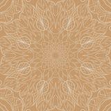 Teste padrão sem emenda da mandala Sumário étnico floral Imagens de Stock Royalty Free