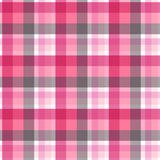 Teste padrão sem emenda da manta cor-de-rosa e cinzenta Vetor Foto de Stock