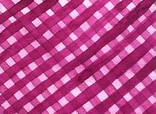 Teste padrão sem emenda da manta geométrica abstrata da aquarela Fundo na moda cor-de-rosa da aquarela ilustração royalty free