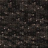 Teste padrão sem emenda da microplaqueta do vetor em um fundo escuro fotografia de stock