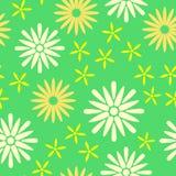 Teste padrão sem emenda da mola verde Vetor Imagem de Stock Royalty Free