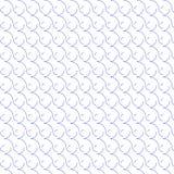 teste padrão sem emenda da onda redonda ilustração royalty free