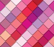 Teste padrão sem emenda da paleta colorida Rosa, bege e roxo ilustração royalty free