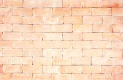 Teste padrão sem emenda da parede de tijolo, claro - fundo marrom imagem de stock royalty free
