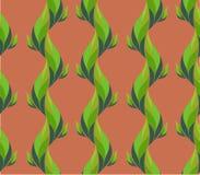 Teste padrão sem emenda da planta ilustração stock