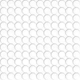 Teste padrão sem emenda da rede branca do octógono Fundo transparente Eps 10 Foto de Stock