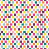 Teste padrão sem emenda da repetição da cor no fundo branco. Foto de Stock Royalty Free