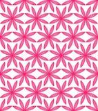 Teste padrão sem emenda da simetria completa do rosa da flor ilustração stock