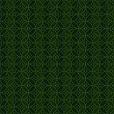 Teste padrão sem emenda da simetria do verde do círculo de Ramadan Islam ilustração stock