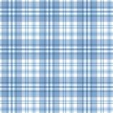 Teste padrão sem emenda da tartã azul Vetor Foto de Stock Royalty Free