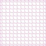 Teste padrão sem emenda da telha quadrada ilustração do vetor