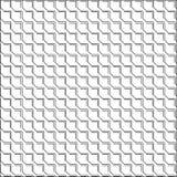 Teste padrão sem emenda da telha quadrada ilustração stock